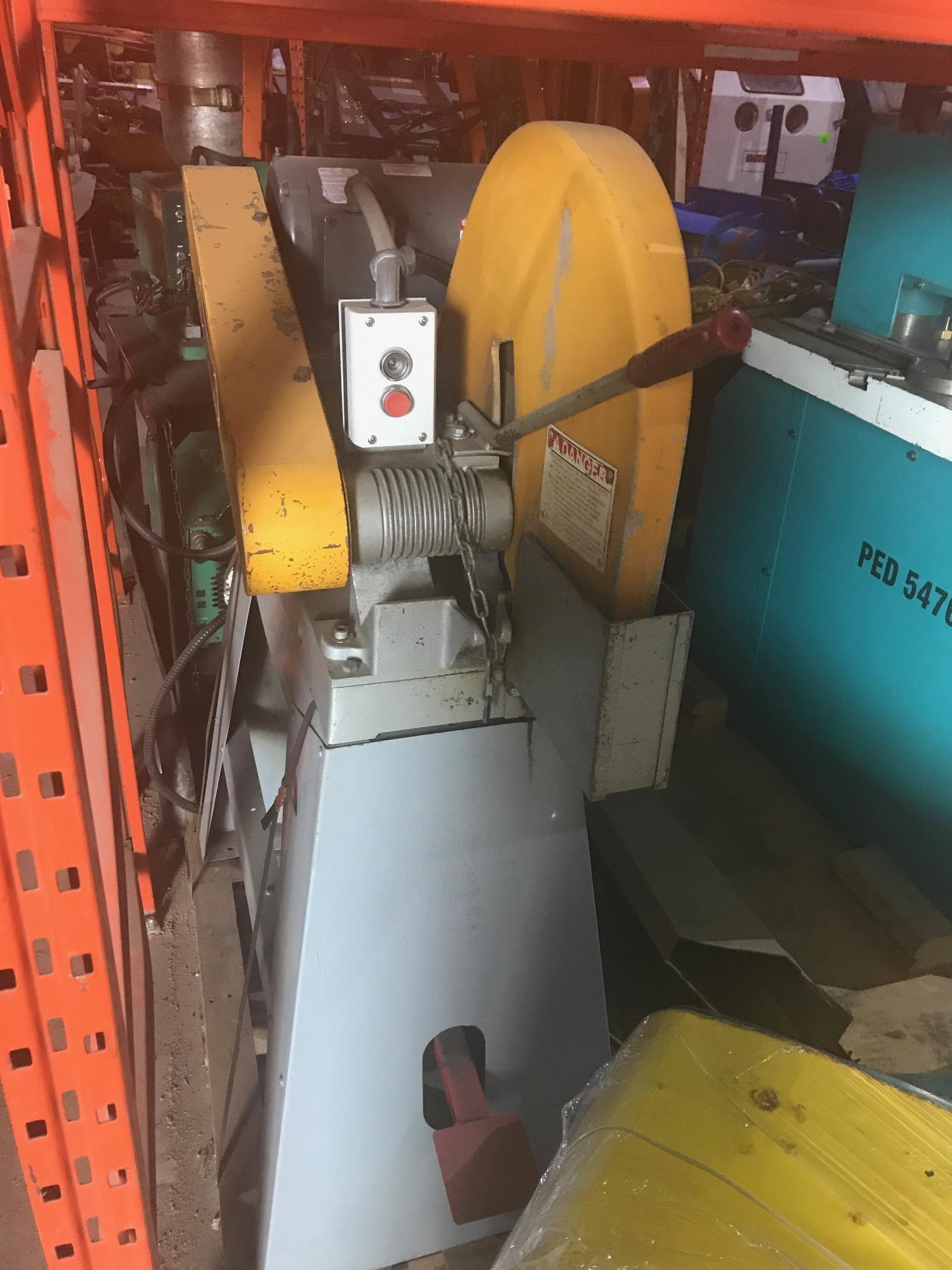 Everett abrasive saw