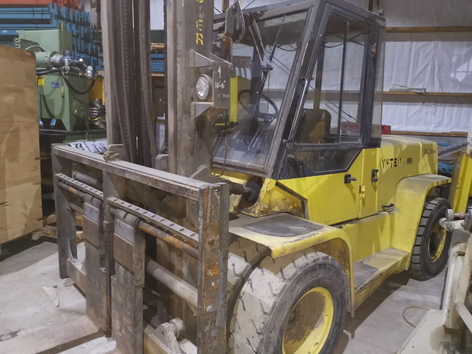 Hyster 15500 lb diesel