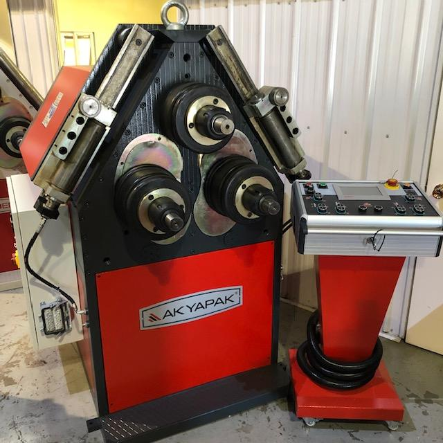 Profile bending machine 81mm