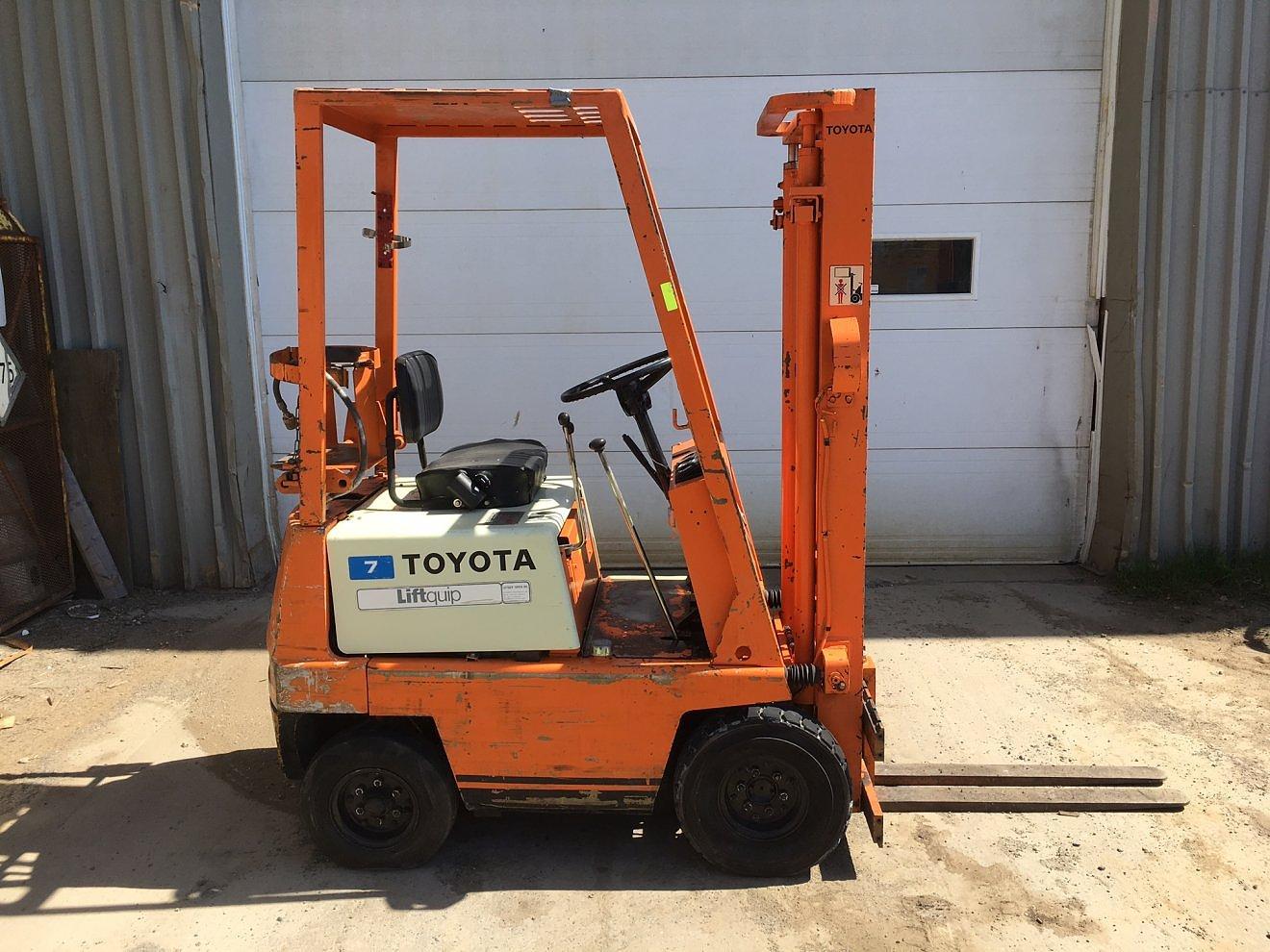 Toyota 1200lb propane
