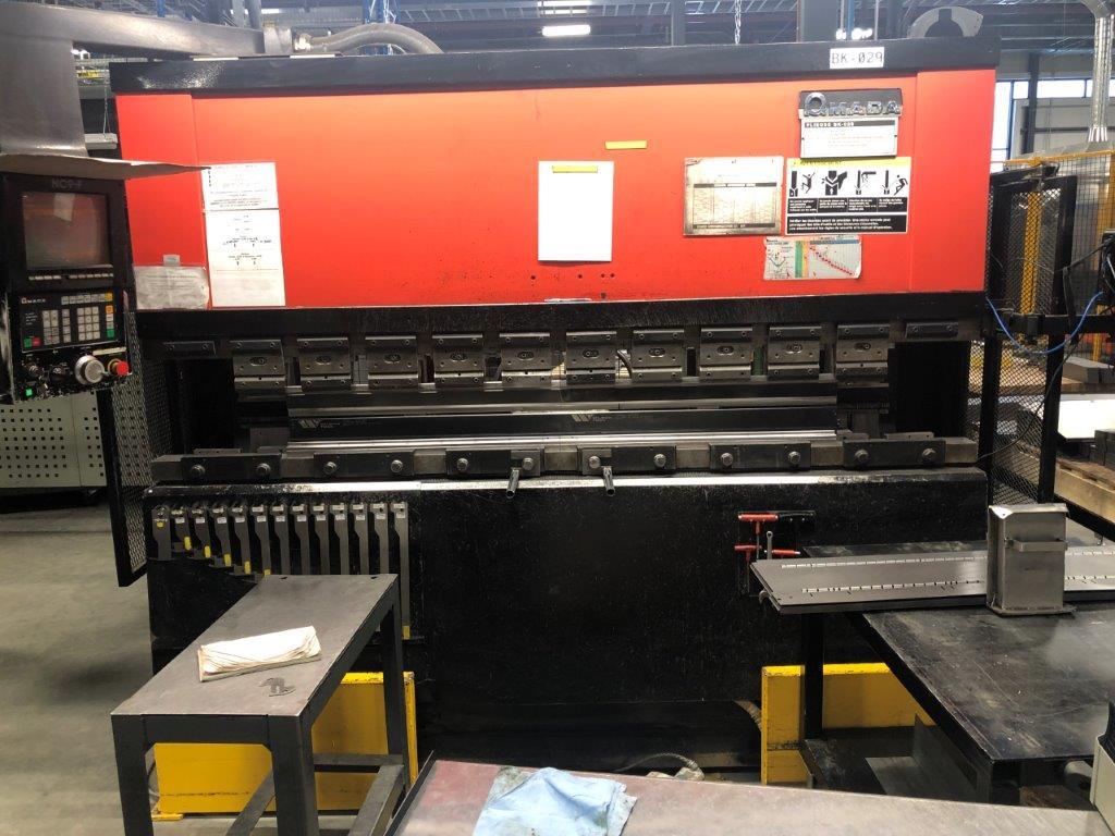 AMADA CNC 80T x 2500mm