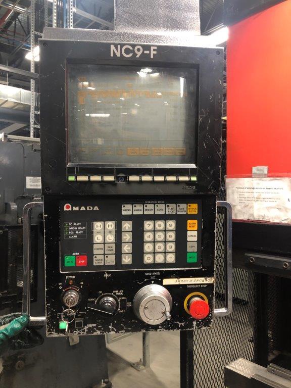 AMADA CNC 80T x 2500mm - Soudogaz