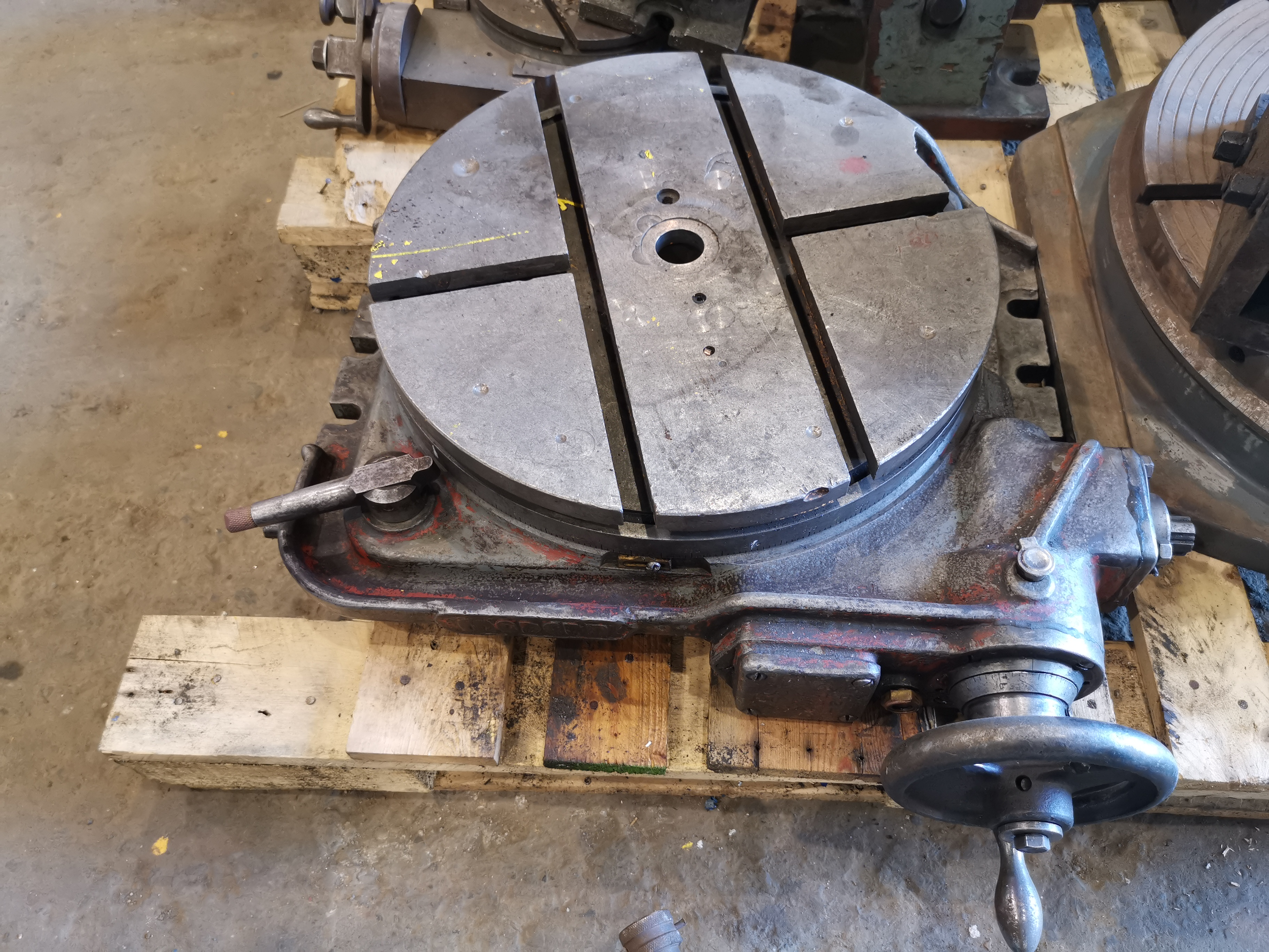 16″ ROTARY TABLE