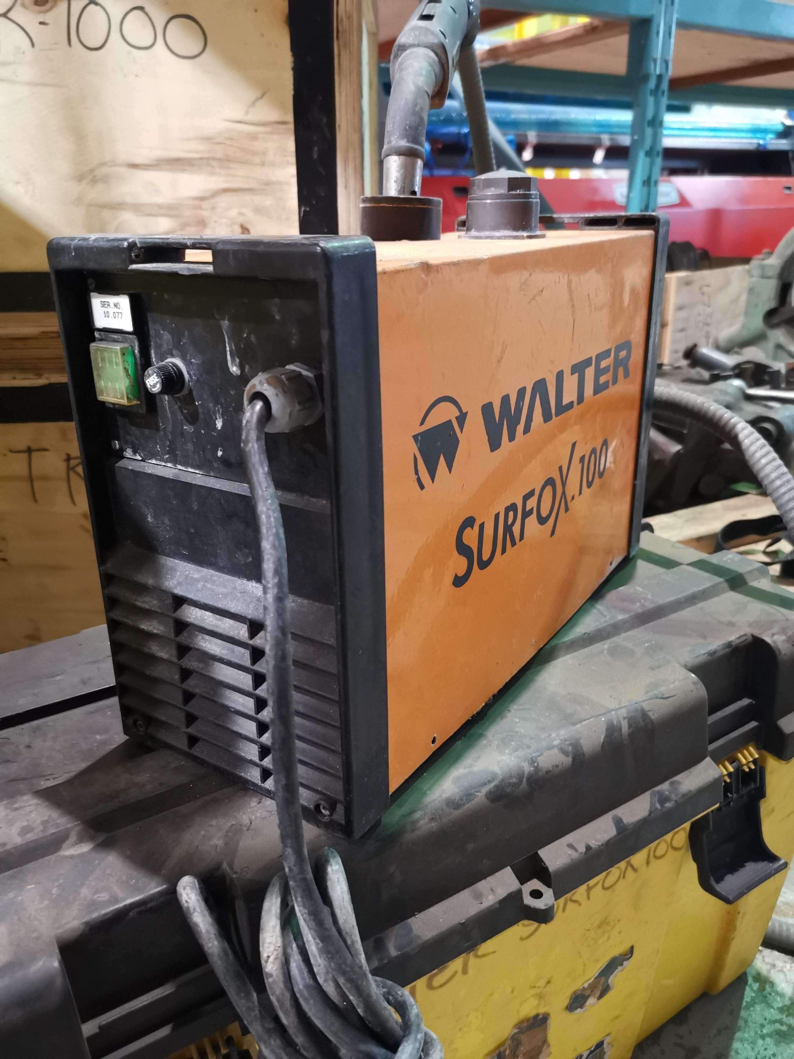 WALTER WELD CLEANER