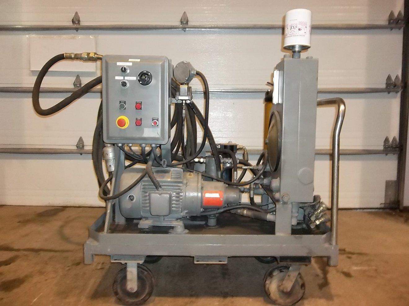 Unite hydraulique  5 hp.