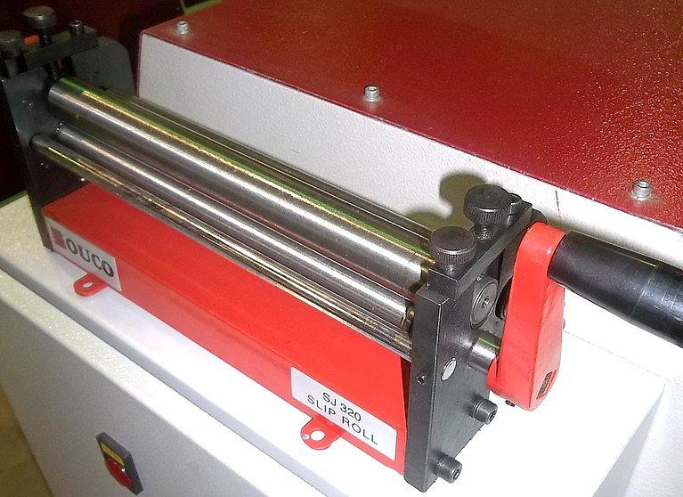 Rouleau à plaque manuel 1.0x320mm